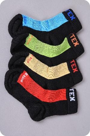 naBOSo - FROTÉ Merino 80 % Dětské Zelené - Surtex - Ponožky 9f4a5d3515