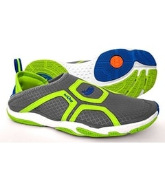 U-CROSS Round Grey/Lime