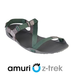 AMURI Z-TREK Charcoal/Hunter Green