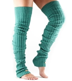 LEG WARMER Thigh High Forrest