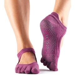 BELLARINA Grip Full Toe Violet