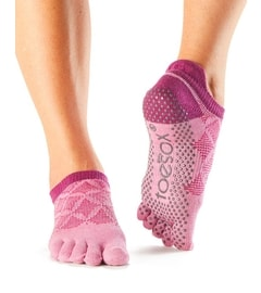 LOW RISE Grip Full Toe Rosa