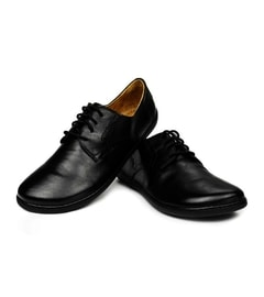 PEAQ Nappa Black Derby