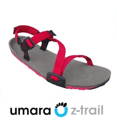 UMARA Z-TRAIL Coal Black/Charcoal/Red Pepper