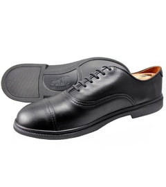 CHRONOLOGY FER CAP-TOE OXFORD Black