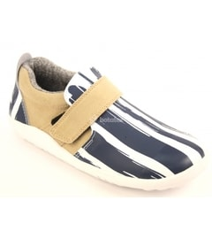Aktiv Paint Shoe White/Navy