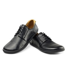 PIQUANT Nappa Black Derby