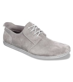 PIQUANT Light Grey Suede Derby