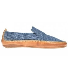 OPANKA SLIP L LLC Blue Wool