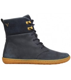 GOBI HI TOP L Leather Navy/Hide