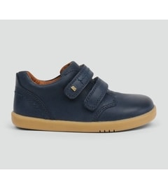 Navy Boys Dress Shoe