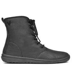 GOBI HI TOP L Eco Canvas Black