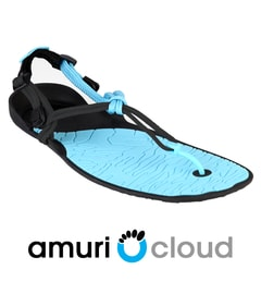 AMURI CLOUD Coal Black/Aquaris