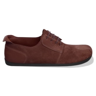 PIQUANT Brown Suede Derby