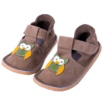 CORELA Brown Nubuck Owl