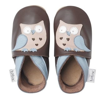 Bobux soft sole CHOCOLATE Owl