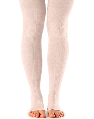 LEG WARMER Open Heel Sweet Pea